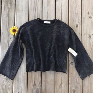 RD Style Distressed Pullover Sweatshirt NEW